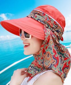 Wide Brim Visor Summer Anti-UV Hat