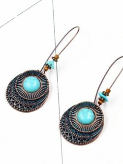Retro Vintage Earring Turquoise Earring