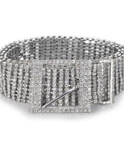 Shiny Waist Chain Crystal Diamond Full Rhinestone Belt