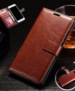 Luxury Retro Flip Wallet Leather Phone Case