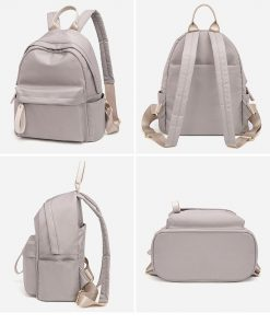 Genuine Leather Backpacks Women Luxury Soft Real Cow Leather Backpack for Travel Fashion Designer Back Pack Bag Female C1441